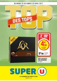 Prospectus Super U CHATOU : Top des tops