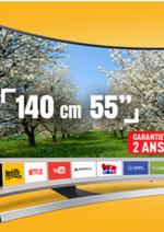Catalogues et collections ELECTRO DEPOT : TV UHD 4K Samsung à 999€ en quantité limitée !
