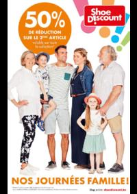 Prospectus Shoe Discount BRUSSEL - SCHAARBEEK : Nos journées famille !