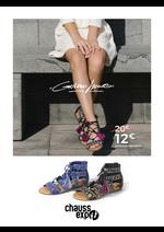 Promos et remises Chauss Expo : Sandales brodées 12€ au lieu de 20 €