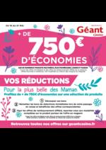 Prospectus Géant Casino : + de 750€ d'économies