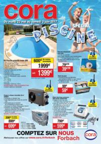 Prospectus Cora FORBACH : Spécial piscine