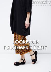 Catalogues et collections Accessoire diffusion Galeries Lafayette Haussmann : Lookbook printemps été 2017