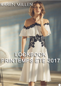 Catalogues et collections Karen Millen - Le Chesnay : Lookbook printemps été 2017