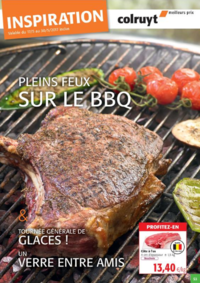 Prospectus Colruyt ANDERLECHT - VEEWEYDE : Pleins feux sur le BBQ