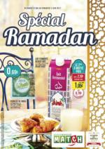Prospectus Match : Spécial Ramadan