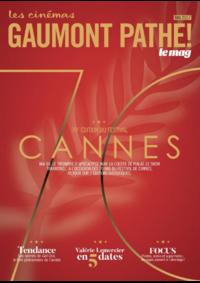 Journaux et magazines Gaumont Pathé! Paris 50 avenue des Champs-Elysées : Feuilletez le magazine du mois de Mai 2017