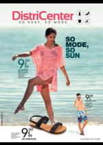Prospectus distri-center : So mode, so sun
