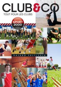 Catalogues et collections Sport 2000 ERAGNY : Club & Co - tout pour les clubs 2017-2018