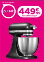 Promos et remises  : 449€ Le robot ménager KitchenAid 5KSM3311XEBM