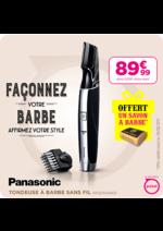 Promos et remises  : 89,99€ La tondeuse Panasonic ERGD50K803