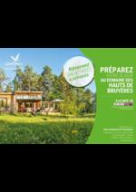 Prospectus  : Préparez votre séjour au domaine des Hauts de Bruyères