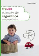 Catálogos e Coleções Prénatal : A cadeira de segurança por que usar, qual escolher