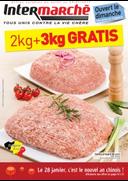 Prospectus Intermarché Bois-de-Villers : 2kg + 3kg gratis