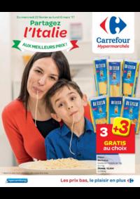 Prospectus Carrefour JAMBES : Partagez l'Italie aux meilleurs prix !