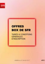 Promos et remises  : Offres Box de SFR