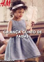 Catálogos e Coleções H&M : Lookbook criança conto de fadas
