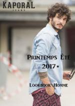 Promos et remises  : Lookbook homme été 2017