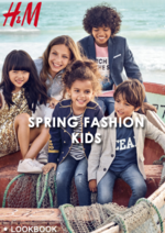 Catalogues et collections H&M : Lookbook Kids Spring Fashion