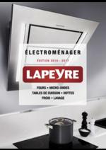 Catalogues et collections Lapeyre : Catalogue Électroménager 2016-2017