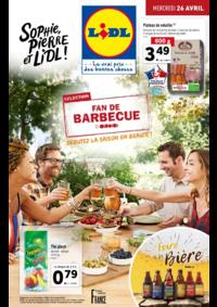 Prospectus Lidl PARIS 247 rue de Crimée : Fan de barbecue, débutez la saison en beauté !