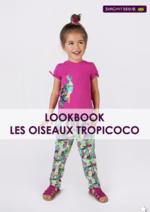 Catalogues et collections Sergent Major : Lookbook Les oiseaux Tropicoco