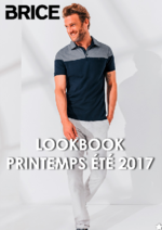 Catalogues et collections Brice : Lookbook printemps été 2017