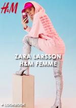 Catalogues et collections H&M : Lookbook femme Zara Larsson H&M