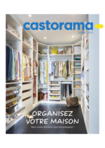 Prospectus Castorama : Organisez votre maison