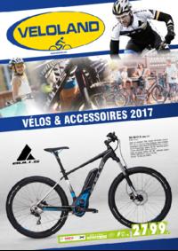 Catalogues et collections VELOLAND PARIS 3 rue de l'Abbé Grégoire : Vélos et accessoires 2017