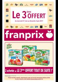 Prospectus Franprix ASNIÈRES : Le 3ème offert