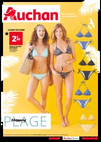 Prospectus Auchan Plaisir : Shopping plage