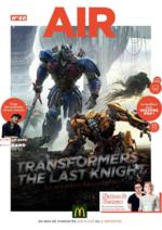 Journaux et magazines Mc Donald's : Air le Mag du mois de Juin 2017