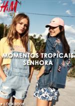 Catálogos e Coleções H&M : Lookbook Momentos Tropicais - senhora