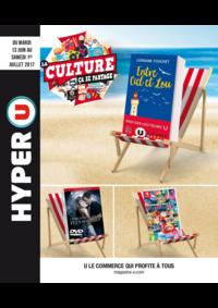 Prospectus Hyper U HANCHES : La culture ça se partage