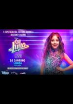 Promoções e descontos  : Soy Luna Live em Lisboa