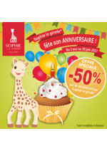 Bons Plans King Jouet : -50% sur le second article Sophie la Girafe