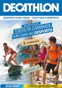 Folhetos DECATHLON Almada : Todos os caminhos vão dar ao desporto
