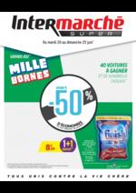 Prospectus Intermarché Super : Grand jeu mille bornes II