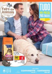 Folhetos Continente Bom Dia Odivelas : Feira dos animais