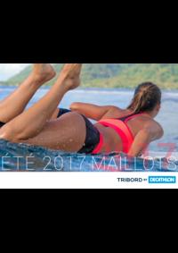 Prospectus DECATHLON Gennevilliers : Catalogue Maillots été 2017