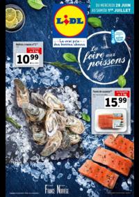 Prospectus Lidl CLICHY 122 avenue du Général Leclerc : La foire aux poissons