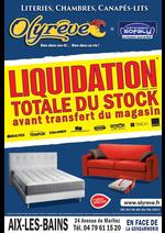 Evénements Olyrêve : LIQUIDATION Olyrêve Aix-Les-Bains