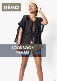 Catalogues et collections Gemo GENNEVILLIERS : Lookbook femme
