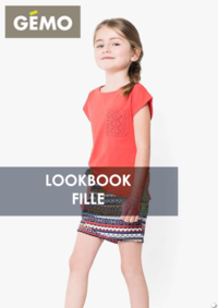 Catalogues et collections Gemo BONDY : Lookbook fille