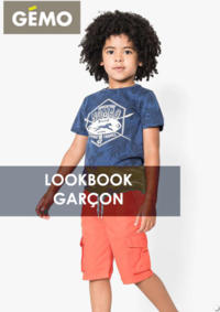 Catalogues et collections Gemo GENNEVILLIERS : Lookbook garçon