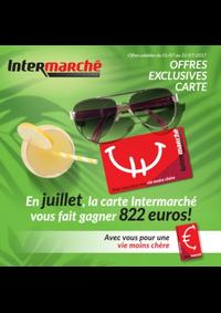 Prospectus Intermarché Lessines : En juillet, la carte Intermarché vous fait gagner 822 euros !