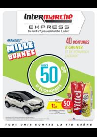 Prospectus Intermarché Express Pantin : Grand jeu mille bornes III