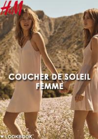 Catalogues et collections H&M Amiens : Lookbook femme Coucher de soleil