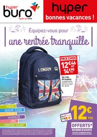 Prospectus Hyperburo Paris 8 - La Licorne : Équipez-vous pour une rentrée tranquille